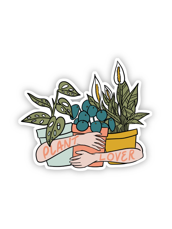 Load image into Gallery viewer, Plant Lover (light skin) sticker