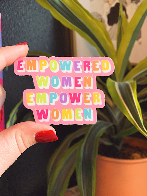 Load image into Gallery viewer, Empowered Women sticker