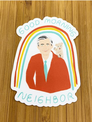 Mister Rogers sticker