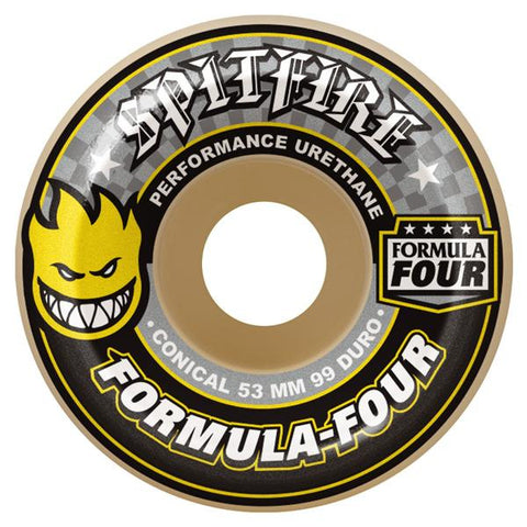 SPITFIRE WHEELS FORMULA FOUR 99D CONICAL 54MM