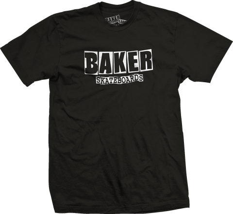 Baker Brand Logo Black/White (Youth Tee)