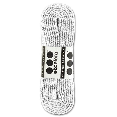 ETCETERA SHOELACES WHITE 140cm