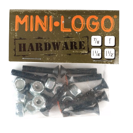 Mini Logo Hardware Single Packs - Phillips Head