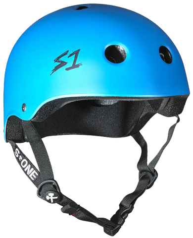 S1 Lifer Helmet - Cyan Matte