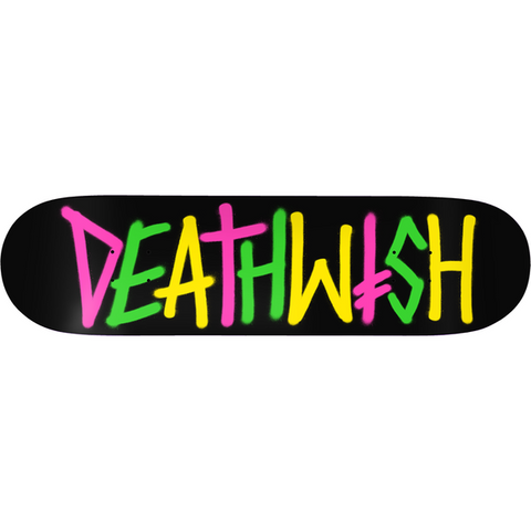 DEATHWISH DECK- Deathspray Multi OG 8.0''