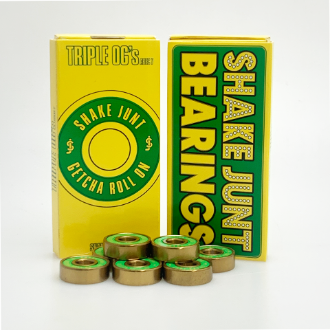 Shake Junt Triple OG Abec 7 Skateboard Bearings