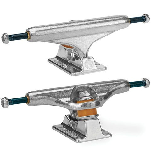 INDEPENDENT FORGED TITANIUM SILVER TRUCKS (Set of 2)