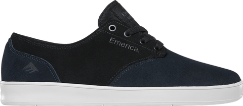 EMERICA ROMERO LACED NAVY/BLACK/SILVER