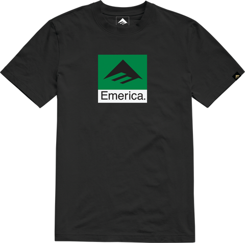 EMERICA CLASSIC COMBO YOUTH T-SHIRT BLACK