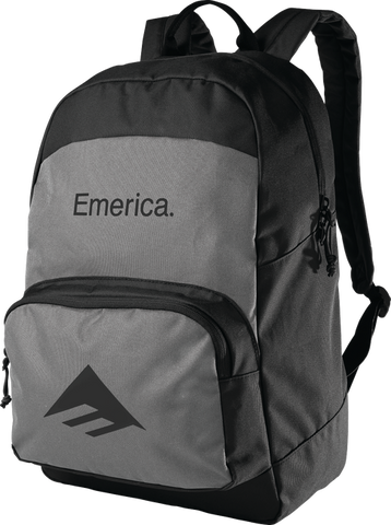 EMERICA BACKPACK BLACK/CHARCOAL