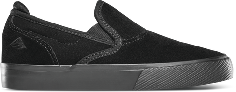 EMERICA WINO G6 SLIP-ON YOUTH  SHOES BLACK/BLACK