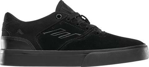 EMERICA REYNOLDS LOW VULC YOUTH BLACK/BLACK/BLACK