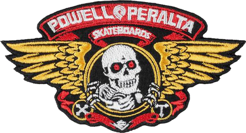 Powell Peralta Winged Ripper Patch 5""