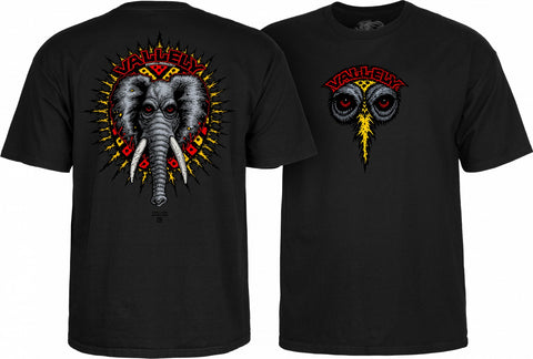 Powell Peralta Vallely Elephant T-shirt Black
