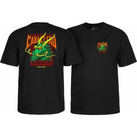 Powell Peralta Caballero Street Dragon T-shirt Black