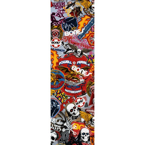 Powell Peralta Grip Tape Sheet 10.5 x 33 Stickers (White)