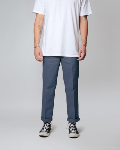 DICKIES ORIGINAL FIT 874 MENS PANTS - AIRFORCE BLUE