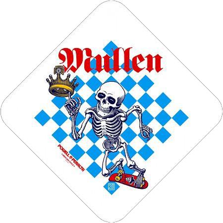 Bones Brigade® Mullen Chess Sticker