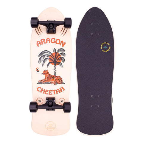 Z Flex Aragon Cheetah 80's Frog Skateboard