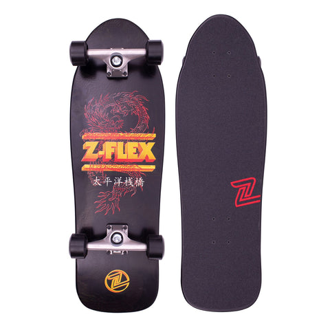 Z-Flex Complete Skateboard Dragon 80's Bear