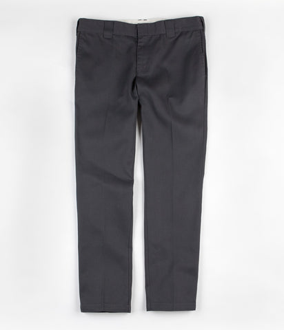 Dickies 872 Charcoal Slim Tapered Work Pant