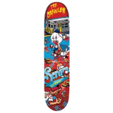 Scram Skateboards - The Brawler Redline Skateboard Deck