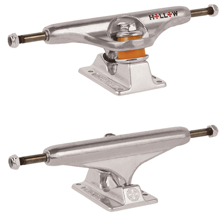 Independent - Forged Hollow Silver Skateboard Trucks (Set of 2)