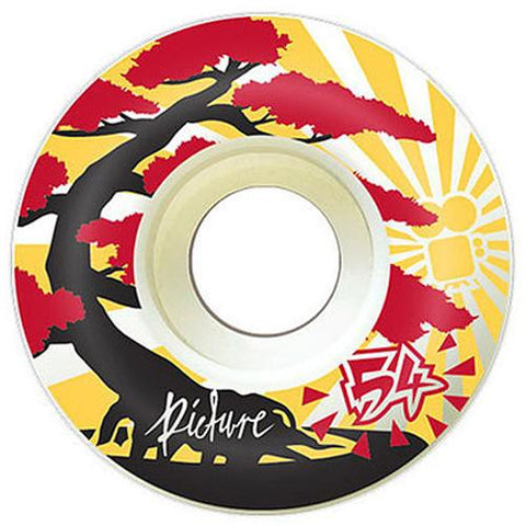 "Picture Wheel Co - 80A Soft Street ""Kushi"" Wheels 54mm"