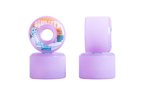 NANA Wheels 62mm Bludgers Lavender Rinse