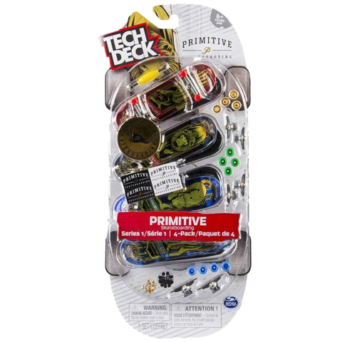 Tech Deck 4 Pack Assorted