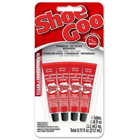 Shoe Goo Mini 4 Pack Clear 5.3ml