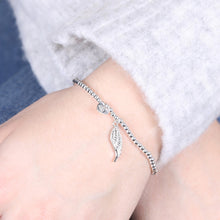 Load image into Gallery viewer, Angel Wing Charm Bracelet