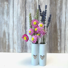 Load image into Gallery viewer, Love Heart Mini Vases - Set of 2