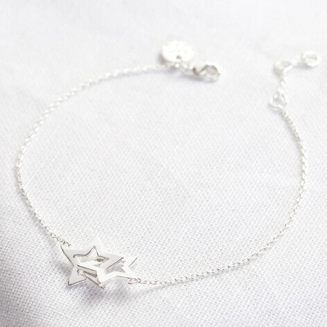 Interlocking Stars Bracelet