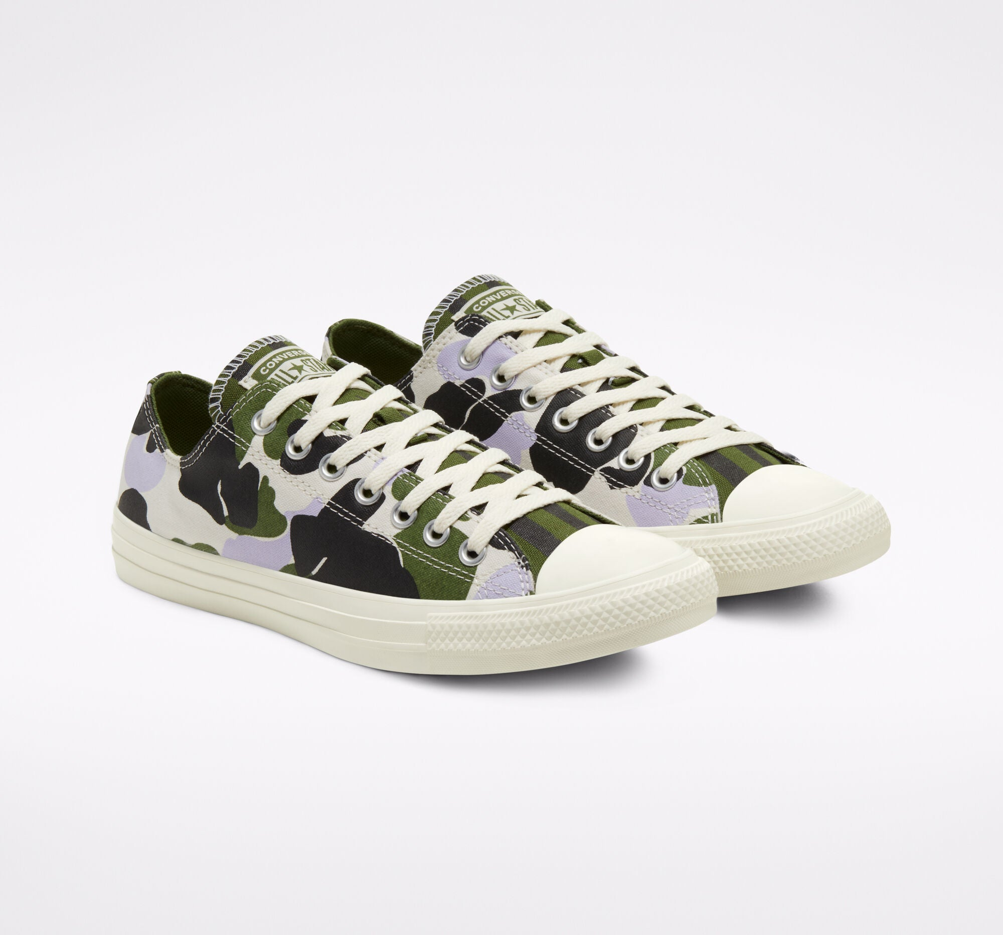 Twisted Archive Prints Chuck Taylor All Star - Egret/Moonstone Violet