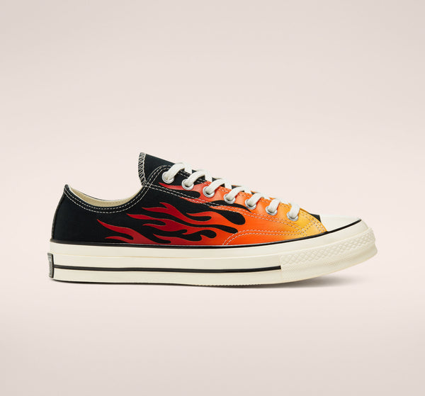 Archive Print Chuck 70 - Black/Enamel Red/Egret