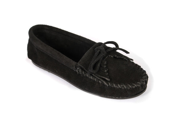 KILTY MOC 400 SHOES BLACK SUEDE - COSMOTOG