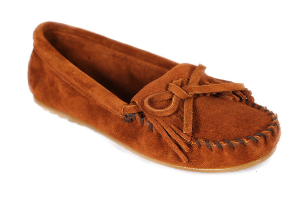 KILTY MOC 402 SHOES BROWN SUEDE - COSMOTOG