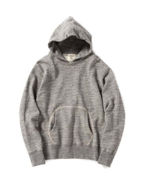 GG SWEAT PARKA HOODIE - CHARCOAL