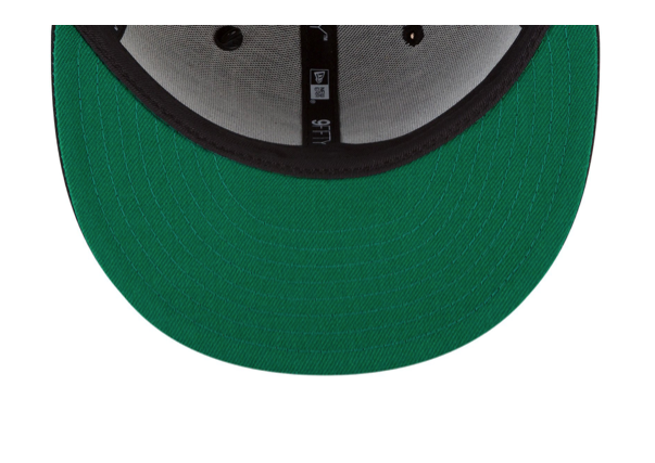 THE ORIGINAL CROWN 9FIFTY SNAPBACK W/ GREEN UNDERVISOR