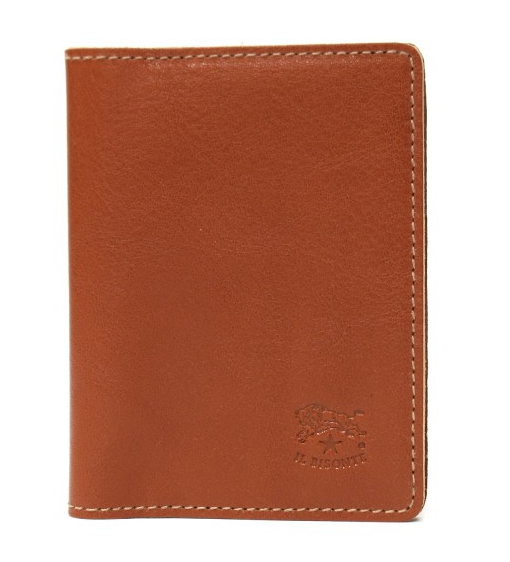 ID & CARD WALLET IN COWHIDE LEATHER C0469/M-145 (COLOR CARAMEL)