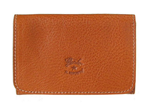 CARD CASE IN COWHIDE LEATHER C0470-145 (COLOR CARAMEL)