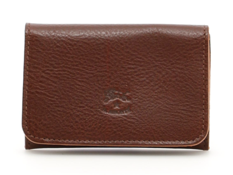 CARD CASE IN COWHIDE LEATHER C0470-869 (COLOR MARRONE)