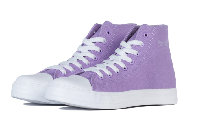 LORD NERMAL HIGH-TOP SHOES - LAVENDER