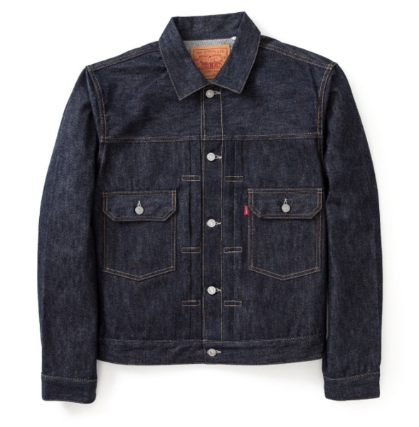 LEVI'S VINTAGE 1953 TYPE II JACKET IN RIGID