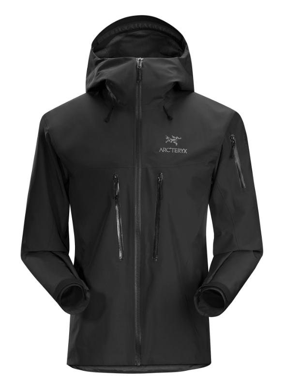 ALPHA SV JACKET -  BLACK