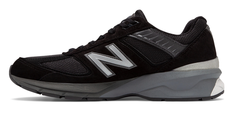 MENS 990V5 MADE IN USA - BLACK/SILVER