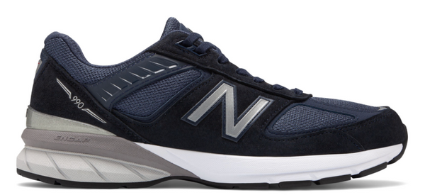 MENS 990V5 MADE IN USA - NAVY/SILVER