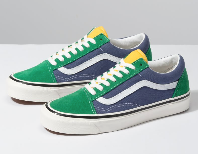 ANAHEIM FACTORY OLD SKOOL 36 DX - OG EMERALD/OG NAVY