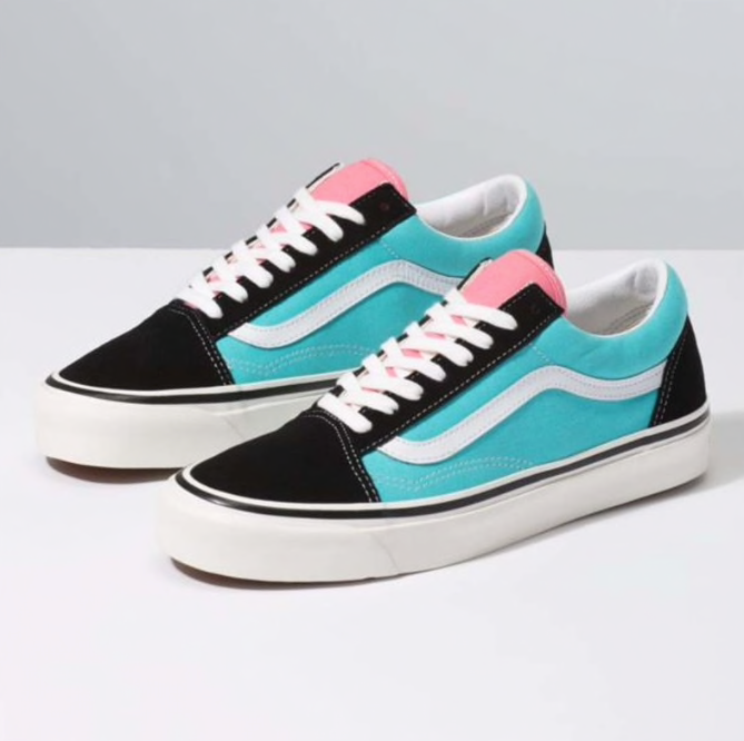 ANAHEIM FACTORY OLD SKOOL 36 DX - OG PINK/OG BLACK/OG AQUA OLD